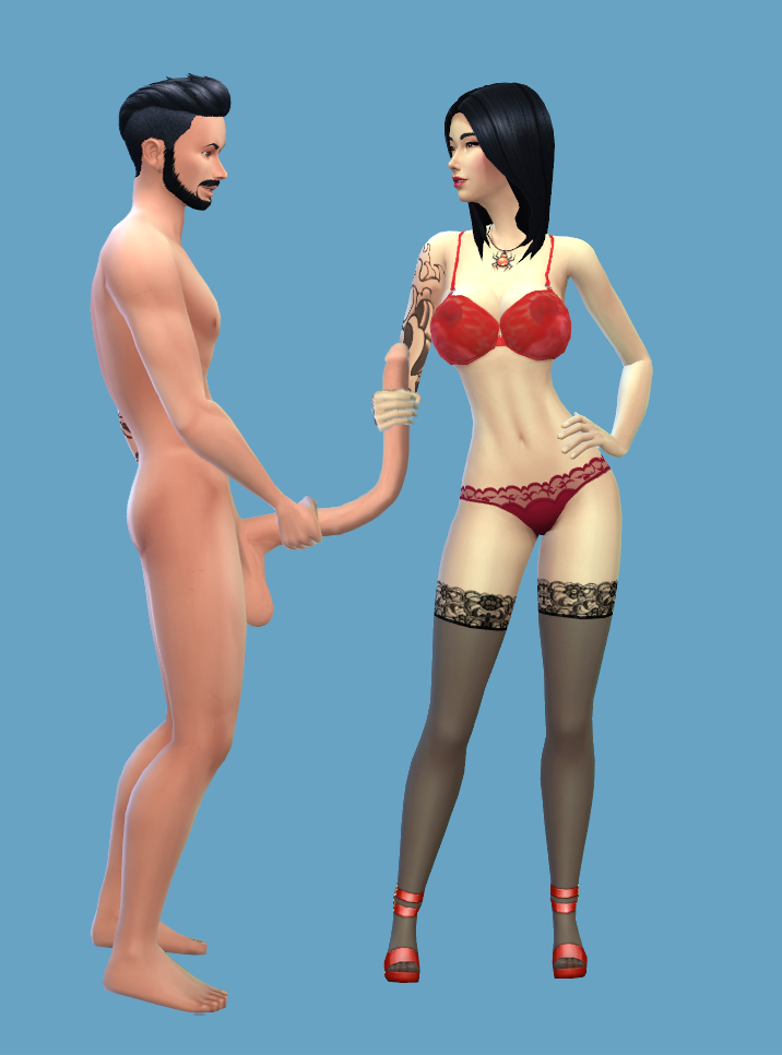4 nude the sims clothes Rin daughters of mnemosyne sex