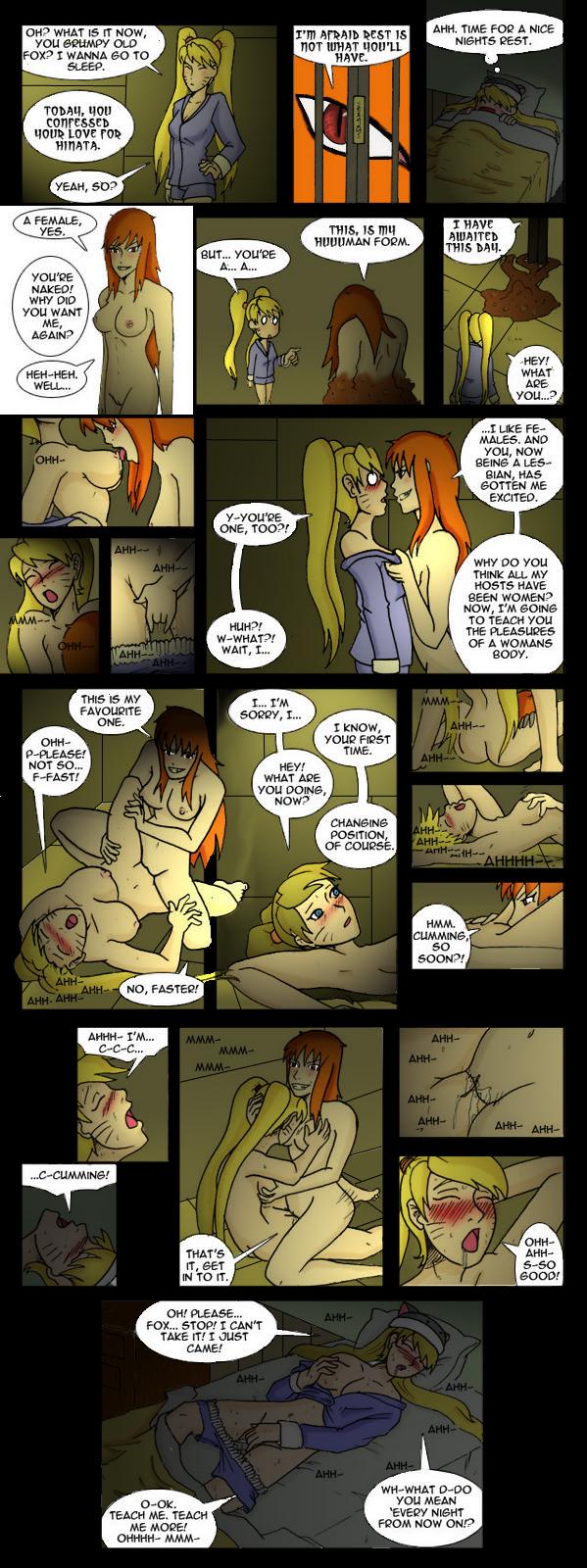fanfiction kyuubi naruto x fem kitsune Scooby doo and daphne sex