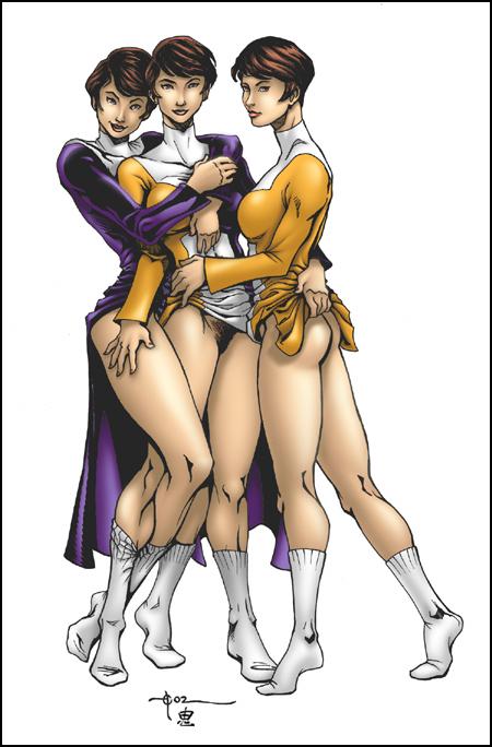 superhero dc girls Jojo's bizarre adventure notorious big