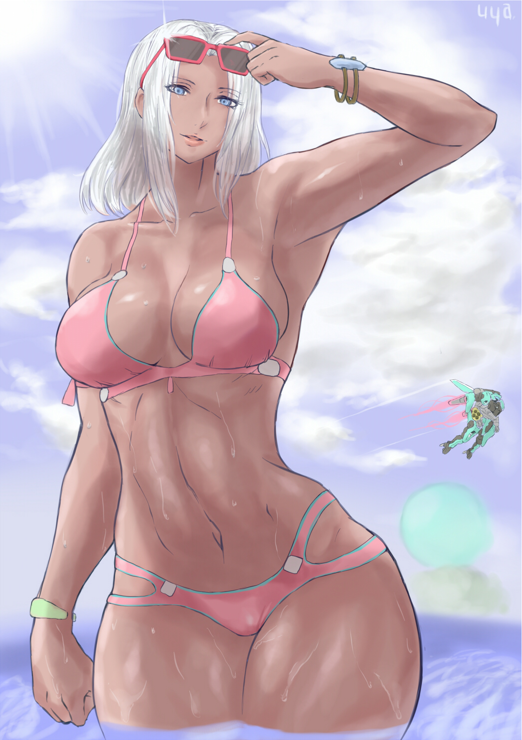 get mia x xenoblade chronicles to how D gray man lenalee lee