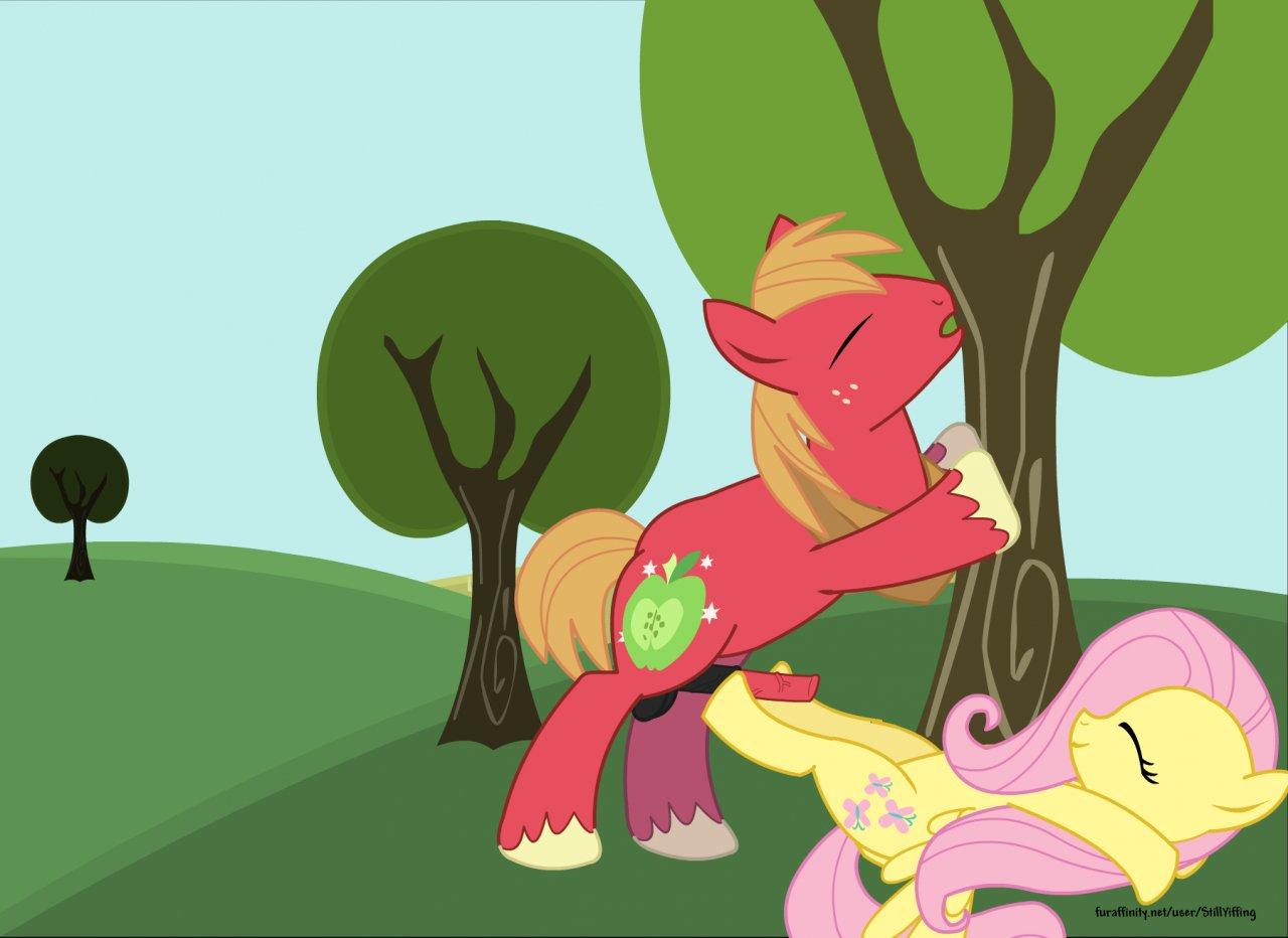 x fluttershy mac big mlp My little pony filthy rich