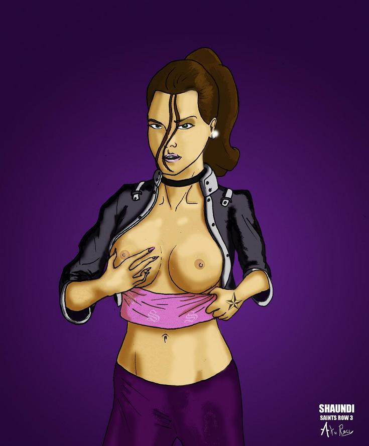 4 saints row Loonette from big comfy couch