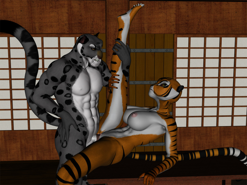 fu from panda kung snake Madan no ou to vanadis