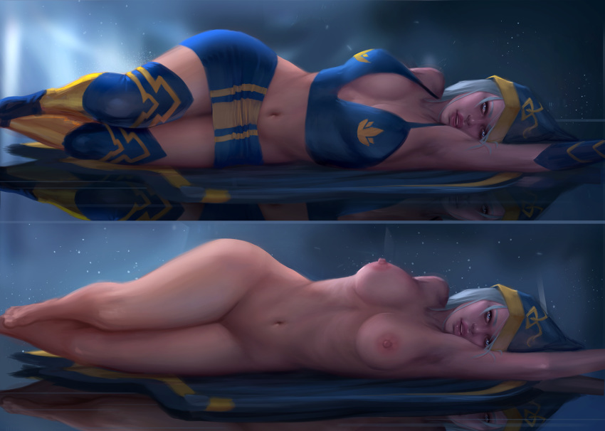 nude league of ashe legends All the way through hentai