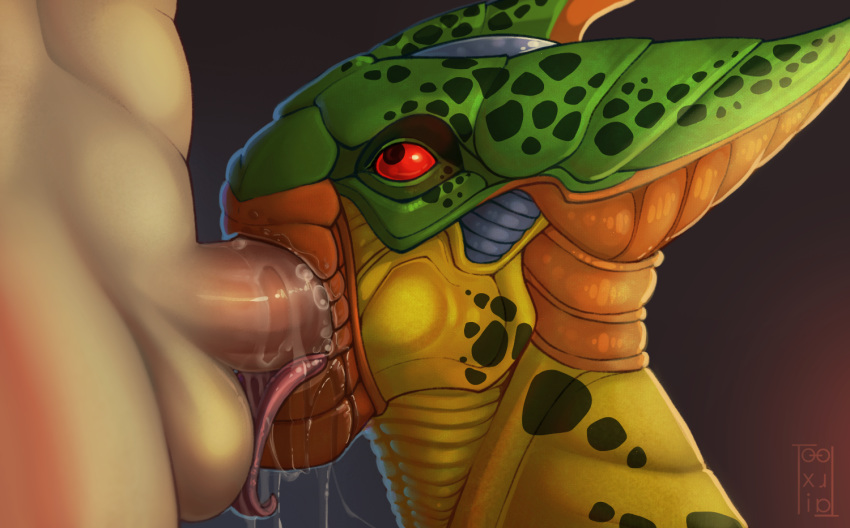 infinity masquerade dragon - ball Cum in mouth animated gif