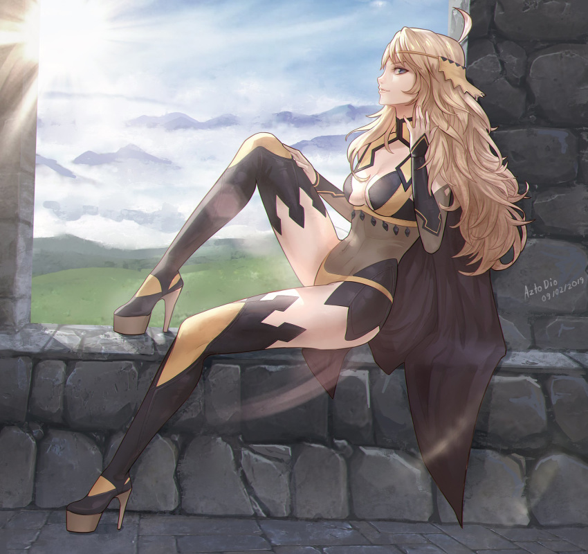 fates nyx emblem fire hentai Zannen onna kanbu black general san