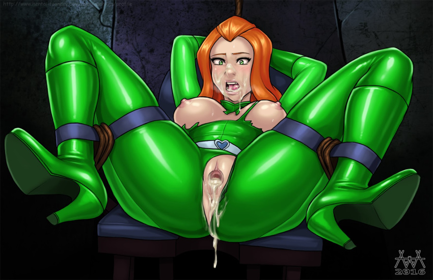 space in spies spies totally Dragon ball android 18 naked